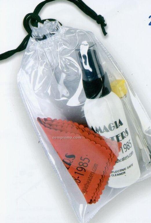 Premium Opper Fiber Cleaner Kit W/ White Cleaner Bottle W/Repair Kit