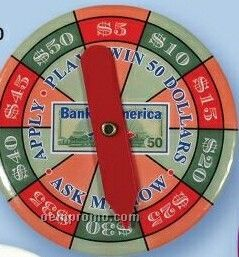 """Round Spinner Button (2 1/2"""")"""