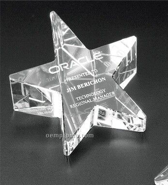 Star Awards | Slanted Star Award OP606 |Slanted Star