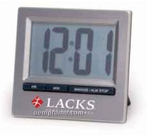 Travel Digital Alarm Clock With Snooze Alarm