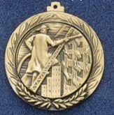 "2.5"" Stock Cast Medallion (Fireman)"