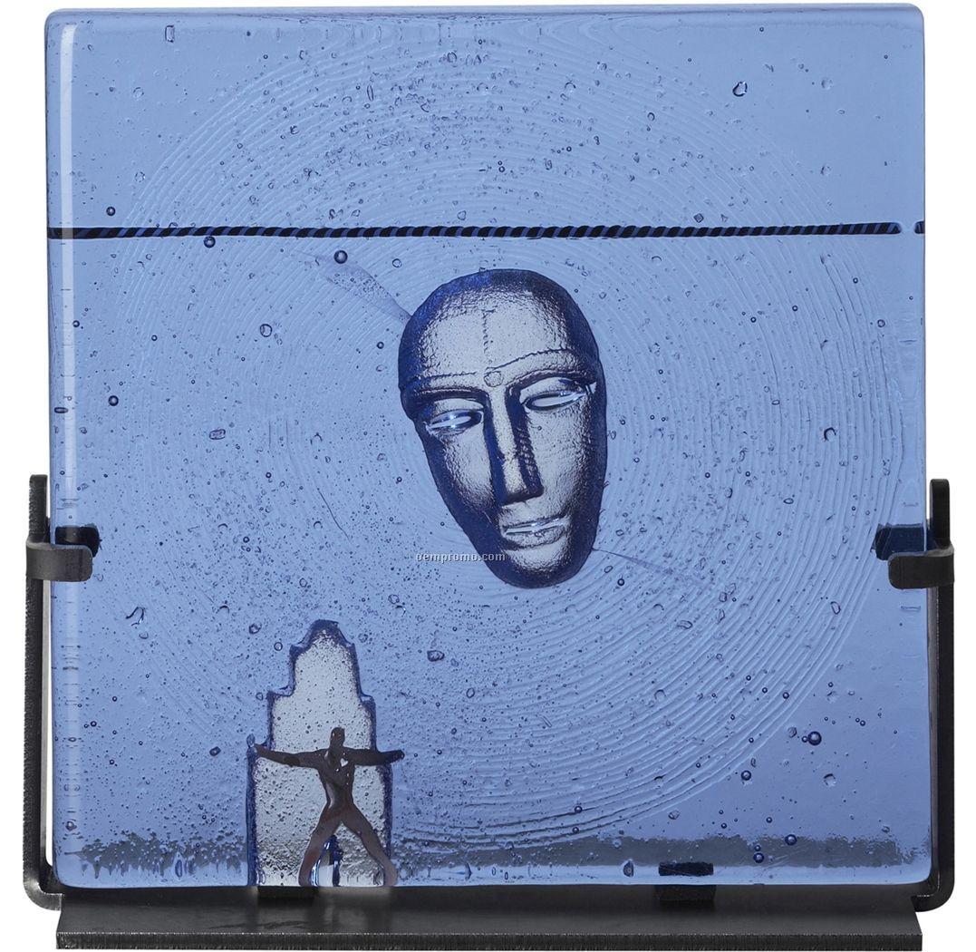 """Dreams """"Meeting"""" Glass Art By Bertil Vallien"""