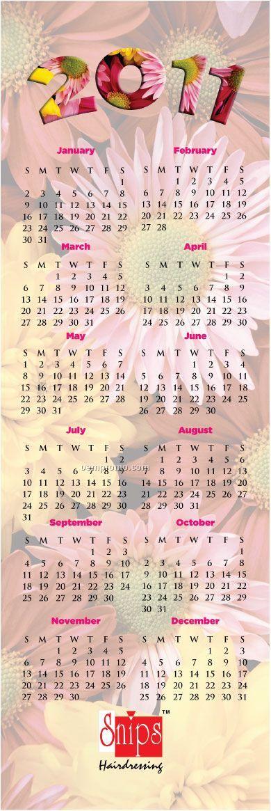 Ez Mail Garden Floral Greeting Card Wall Calendar