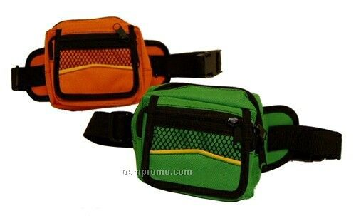 "Fanny Pack W/ Adjustable Belt (5-1/2""X5"")"