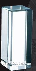 Medium Optical Crystal Rectangular Column Award