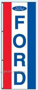Single Face Dealer Rotator Drape Flags - Ford