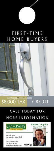 """Tax Credit Door Hanger (4"""" X 11"""")"""