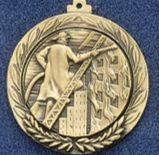 "1.5"" Stock Cast Medallion (Fireman)"
