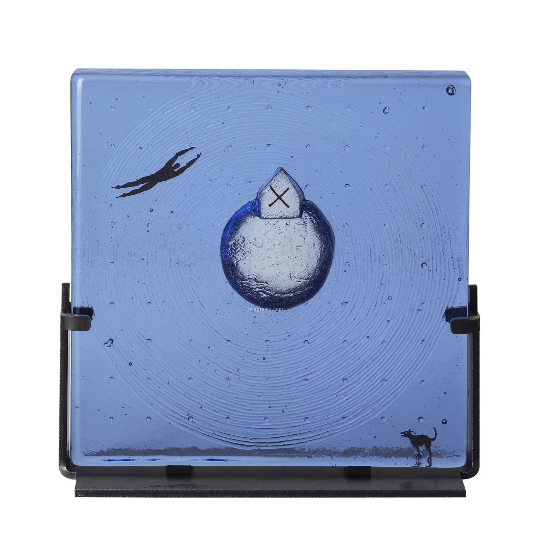 "Dreams ""Floating"" Glass Art By Bertil Vallien"