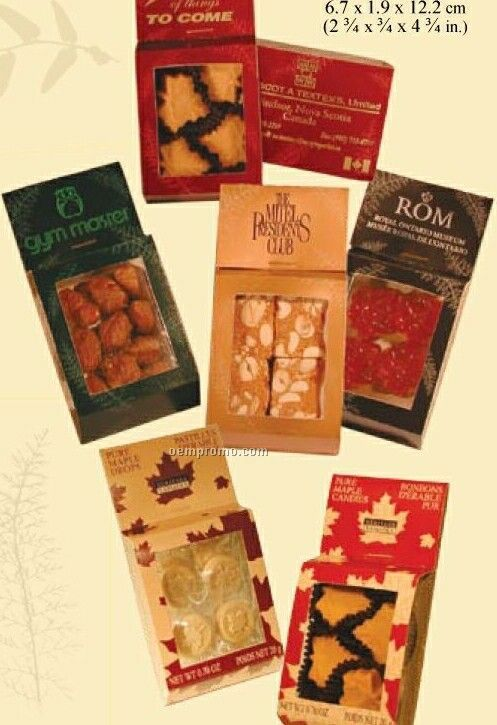 Frosted Maple Almonds In Business Attention Blister Package (Customization)