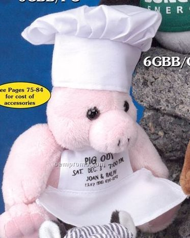 Gb Brite Plush Beanie Stuffed Pig