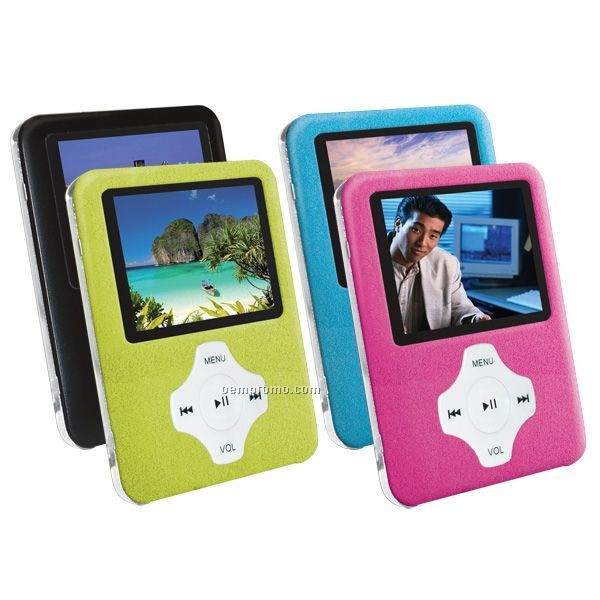 Slim Portable Media Player (4gb)