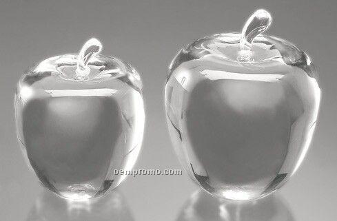 Optic Crystal Apple (Small)