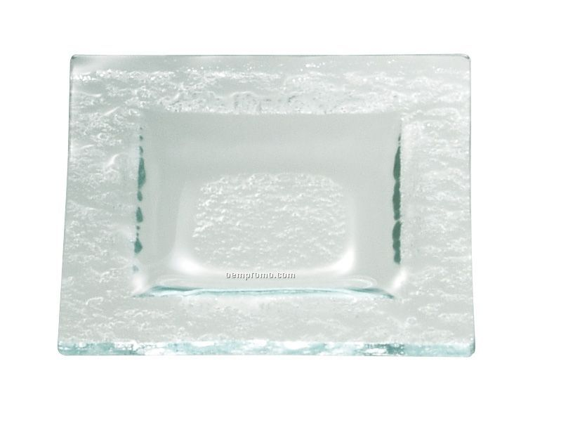 Tuscany Glass Eco Line Collection Square Dish