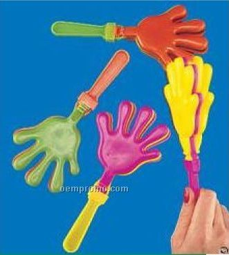 "7-1/2"" Plastic Hand Clapper / Noise Maker"