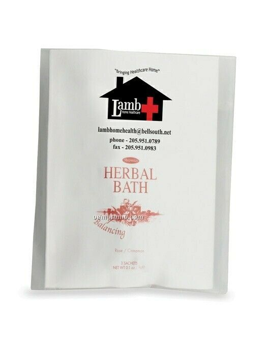 Bath Tea Sachet - Uplifting Honeysuckle/ Mint