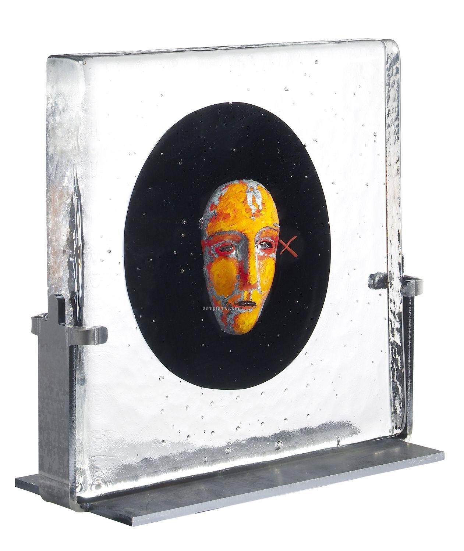Black Elements Black Moon Glass Art By Bertil Vallien
