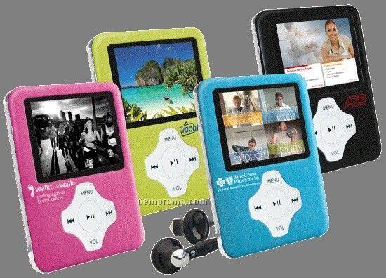 Slim Portable Media Player (8gb)