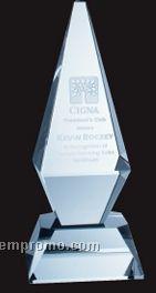 Medium Optical Crystal Excellence Tower Award
