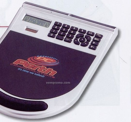 Mouse Pad Organizer W/ Calculator