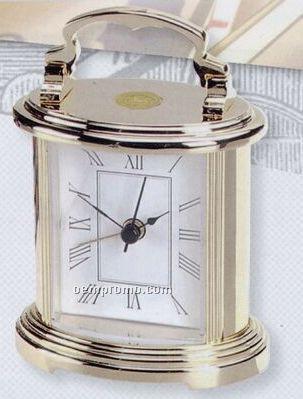 Silver Plated Prestige Alarm Clock