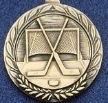 """2.5"""" Stock Cast Medallion (Hockey/ General)"""
