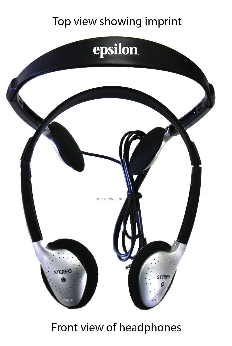 Audio Headphone W/ Universal Plug For All Audio Devices