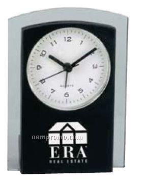 Elegant Two-tone Desk Top Alarm Clock
