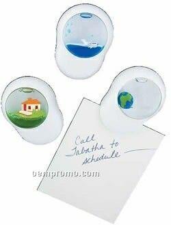 Magnetic Note Holder W/ Floating Design