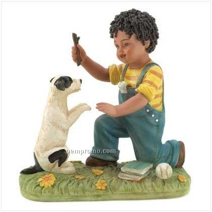 Making Friends Fast Figurine