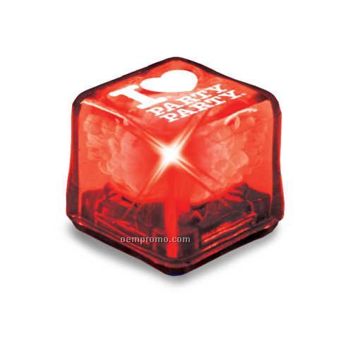 Red Ultra Glow Ice Cube