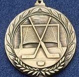 """1.5"""" Stock Cast Medallion (Hockey General)"""