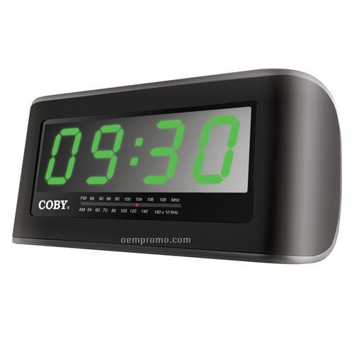 Coby Cra108 Digital AM/FM Jumbo Alarm Clock Radio