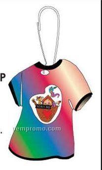 Noah's Ark T-shirt Zipper Pull