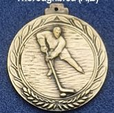 "2.5"" Stock Cast Medallion (Hockey 1)"