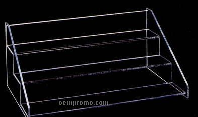 "Acrylic Three Tier Display Rack (16""X8""X10"")"