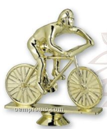 Bicycle Male Plastic Figure Casting