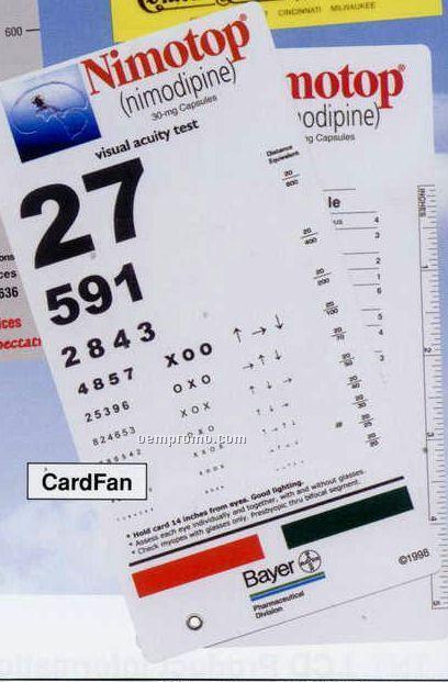 "Information Chart Card (6""X9"")"