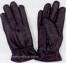 Ladies Leather Flower Style Glove