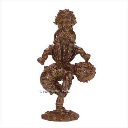 Leapfrog Garden Statue