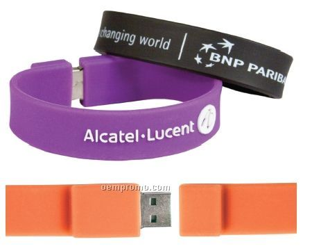 Memory Band USB Flash Drive Bracelet (4 Gb)