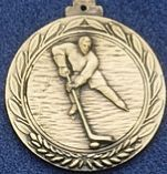 "1.5"" Stock Cast Medallion (Hockey 1)"