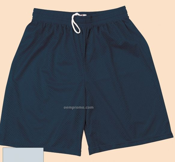 Badger Sport Pocketed Mesh Short