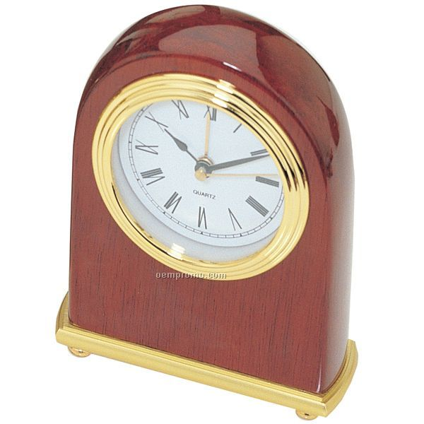 Piano Finish Arch Desktop Alarm Clock