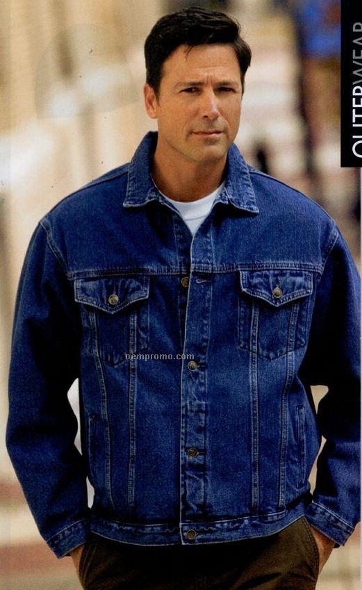 Port Authority Authentic Denim Jacket (Xs-4xl)