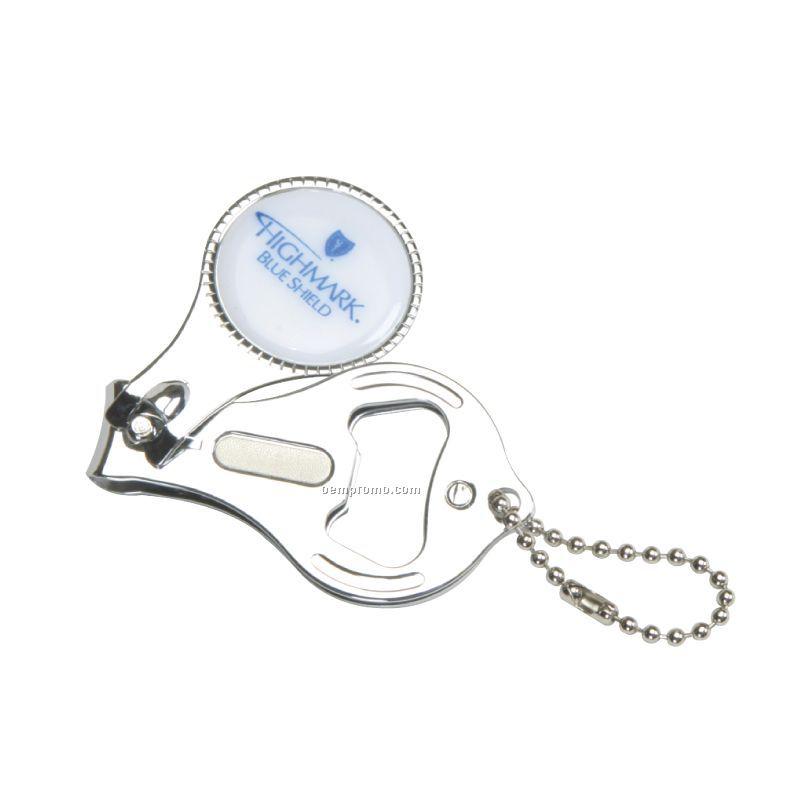 round nail clipper w bottle opener keyring china wholesale round nail clipper w bottle opener. Black Bedroom Furniture Sets. Home Design Ideas