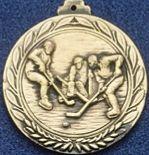 "1.5"" Stock Cast Medallion (Hockey 2)"