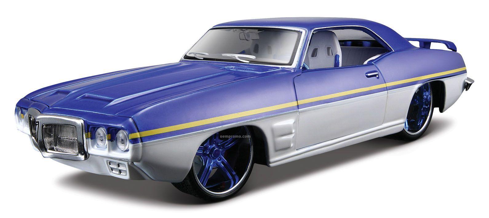 "7""X2-1/2""X3"" 1969 Pontiac Firebird All Star Series Die Cast Replica"