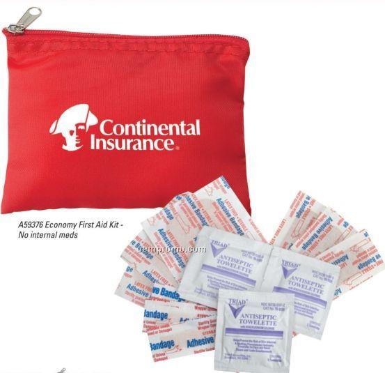 Economy First Aid Kit W/ Internal Meds