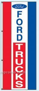 Single Face Dealer Rotator Drape Flags - Ford Trucks